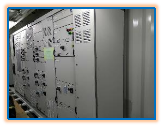 E-house内部电气控制柜